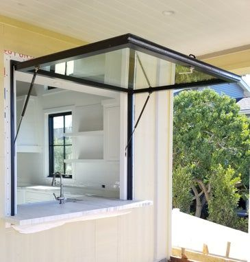 Hydraulic Awning Windows Usa Thruvue By Optvue In 2020 Awning Windows Awning Windows Kitchen Window Awnings