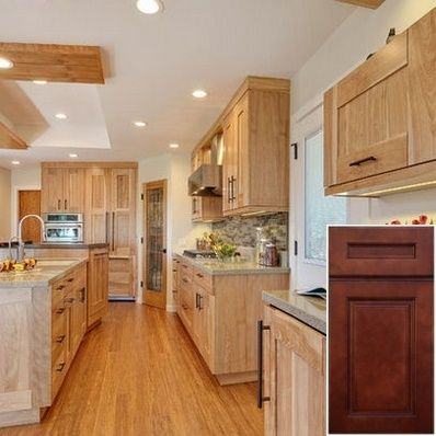 Images Of Pictures Of Oak Kitchen Cabinets With Granite Countertops Oakkitchencabinets Kitchen Birch Cabinets Birch Kitchen Cabinets Contemporary Kitchen