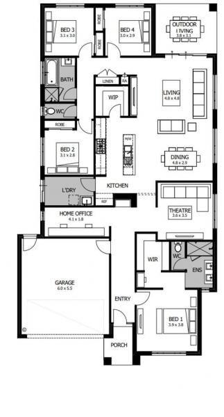 Barcelona Boutique Homes House Floor Plans Duplex House Design House Plans