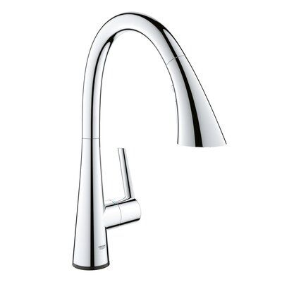 Grohe Ladylux L2 Touch Single Handle Kitchen Faucet Finish Chrome