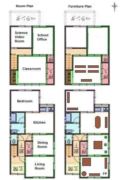 Modern Japanese House Floor Plans