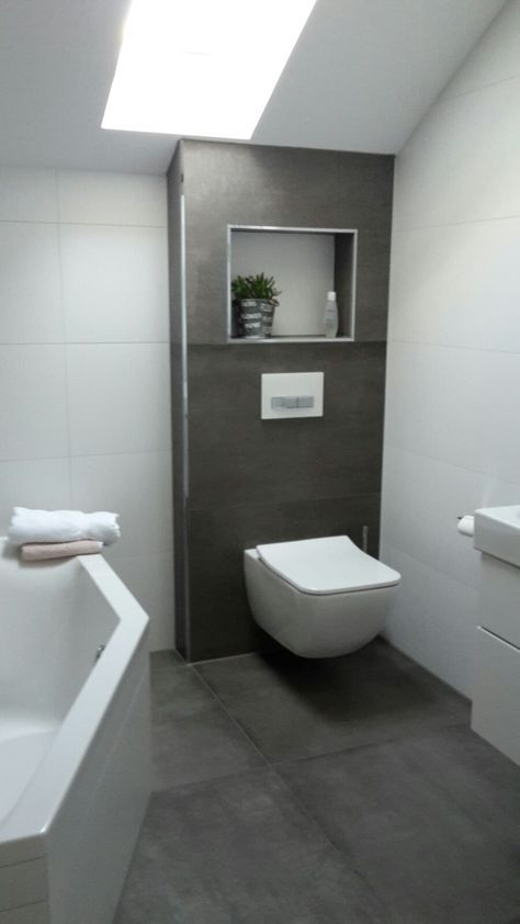 Badezimmer Hinreißend Bad Fliesen Anthrazit Weiß Ideen Fliesen In - farbe für badezimmer