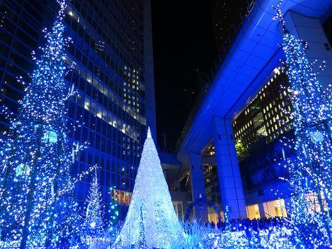 city blue lights at christmas Global Christmas Pinterest Blue