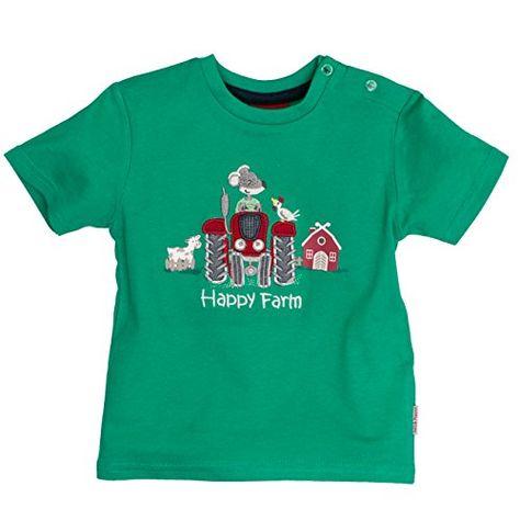 SALT AND PEPPER Baby-Jungen B L Farm Stick T-Shirt