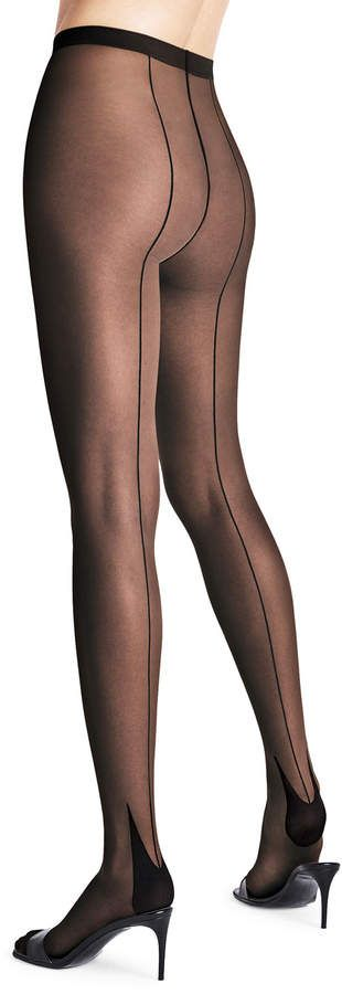 Wolford Horizon Back-Seam Tights