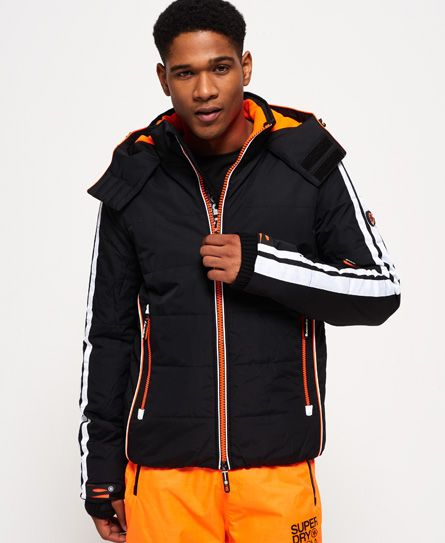 Adidas Black&Orange Ski Jacket