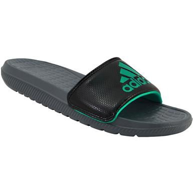 bc31eb8cf77350 Adidas Women s Adissage Slide Sandals (Black Pink)