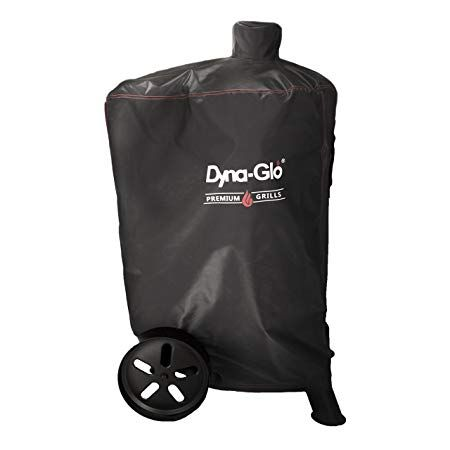 Dyna Glo Dg681csc Premium Vertical Smoker Cover Grill Review Dyna Black Smokers Grill Cover