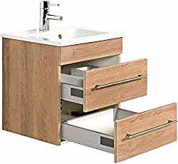 Waschbeckenunterschranke Badunterschranke In 2020 Vanity