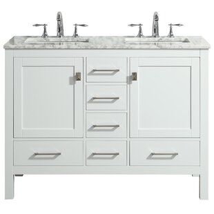 48 Inch Bathroom Vanities At Great Prices Wayfair White Vanity Bathroom Double Sink Vanity Vanity