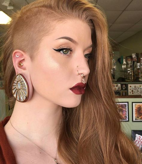 """1,229 Likes, 8 Comments - Buddha Jewelry Organics (@buddhajewelryorganics) on Instagram: """"Dammmn @tfhb from @burningheartstattoo is KILLING the style game in these Beam Teardrops.  What a…"""""""