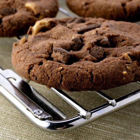 Triple-Chocolate Cookies