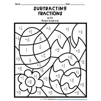 Fractions Worksheets Grade 1 Gambarin Us Post Date 21 Dec 2018 78 Source Htt Math Fractions Worksheets Fractions Worksheets Kids Math Worksheets