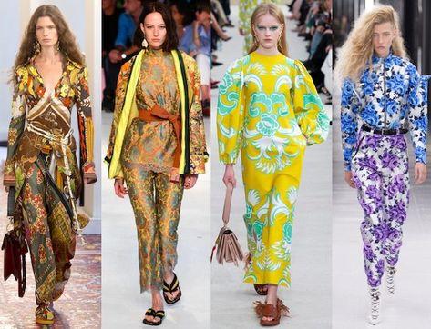 tendencias moda pv19 flores #fashiontrends2019
