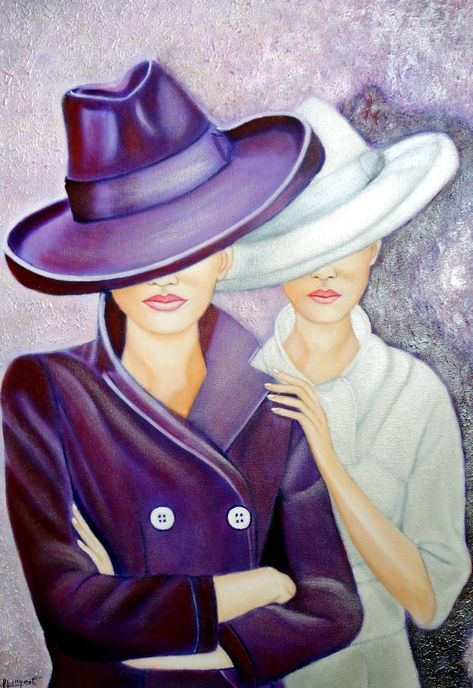 Saatchi Art is pleased to present the painting, 'LA SOMBRA DEL GLAMOUR,' by Carmen G Junyent, available for the price of $680 USD. Original Painting: Acrylic on Canvas. Size is 21.7 H x 15.7 W x 0.8 in.