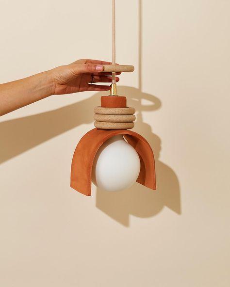 Lunar Pendant: SIN ceramics & home goods - Handmade in Brooklyn – SIN Ceramic Light, Ceramic Pendant, Ceramic Lamps, Ceramic Furniture, Ceramic Art, Keramik Design, Turbulence Deco, Luminaire Design, 3d Prints