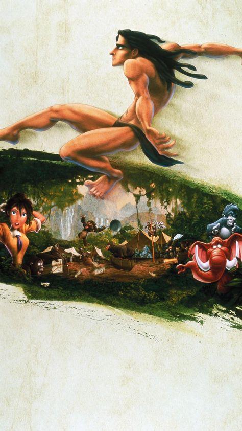 Tarzan (1999) Phone Wallpaper | Moviemania