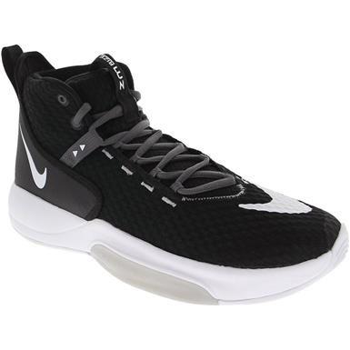 Nike Zoom Rize Tb Basketball Shoes Mens Black White Wolf Grey In 2020 Basketball Shoes Mens Athletic Shoes Nike Zoom