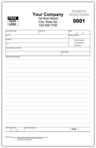 Service Invoice Form Invoice Template Appliance Repair Templates