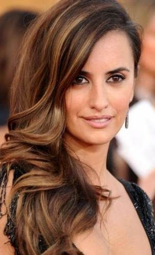 49 Trendy Hair Color Morena Penelope Cruz Hair Highlights Hair Color Leighton Meester Hair