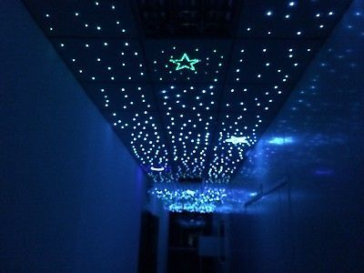 Details About Twinkle Fiber Optic Star Ceiling Lights 10w Rgbw Cree Led Multi Strands Fiber