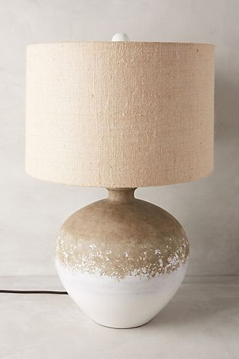 Uteki Painted Table Lamp Anthropologie In 2020 Lamps Living Room Unique Table Lamps Room Lamp
