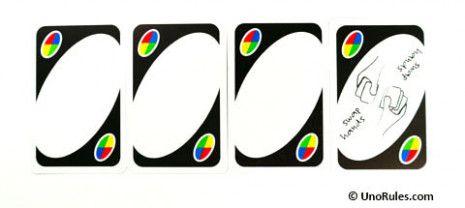 Good Uno Blank Card Rules Good Uno Blank Card Rules Good Uno
