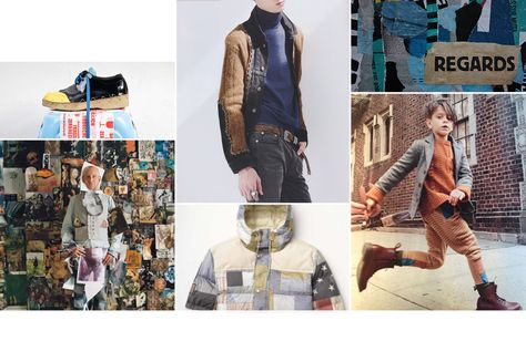 Fashion Forecast (collaged, decorative, repaired)