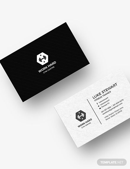 Personal Trainer Business Card Template Word Doc Psd Apple Mac Pages Illustrator Publisher Personal Trainer Business Card Personal Trainer Business Business Card Template Word