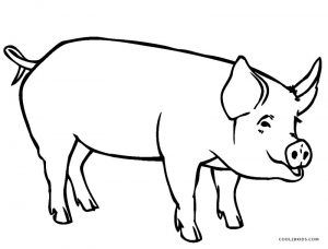 Free Printable Pig Coloring Pages For Kids Cool2bkids Farm Animal Coloring Pages Peppa Pig Coloring Pages Peppa Pig Colouring