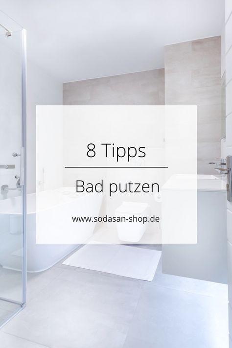 Bad putzen | Haushalts-Tipps | Pinterest