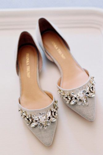 27 Flat Wedding Shoes For Comfort Style Wedding Shoes Bridal