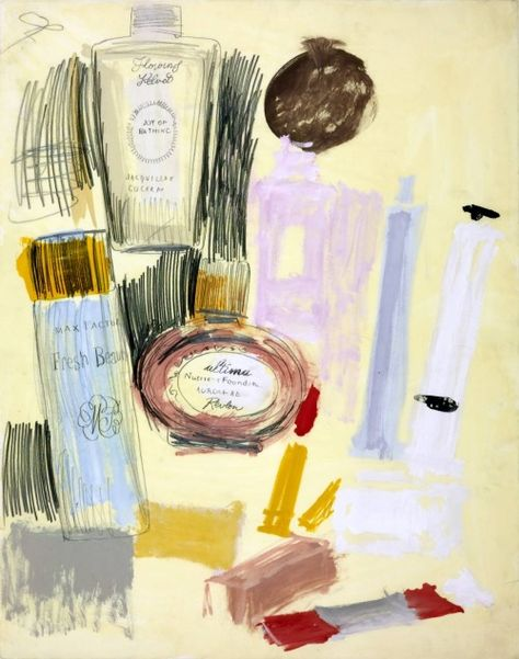 Andy Warhol, Untitled (Beauty Products), 1960