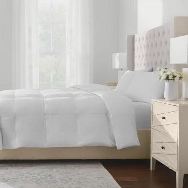 The Company Store White Bay Down Comforter Down Comforter Stay