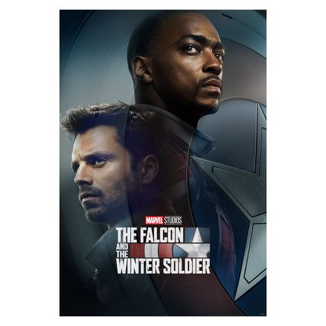 The Falcon & The Winter Soldier TV Posters Mural - Officially Licensed Marvel Removable Wall Adhesive Decal XL by Fathead | Vinyl