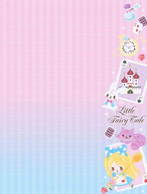 Q-Lia Little Fairy Tale Letter Set