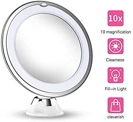 Updated 2019 Version 10x Magnifying Makeup Vanity Mirror With Lights Led Light Makeup Vanity Mirror With Lights Makeup Mirror With Lights Makeup Vanity Mirror