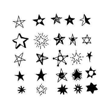 Hand Drawn Star Doodle Star Icons Hand Icons Doodle Icons Png And Vector With Transparent Background For Free Download Star Doodle How To Draw Hands Drawing Stars