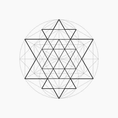 Stock Vector In 2020 Geometric Drawing Sacred Geometry Patterns