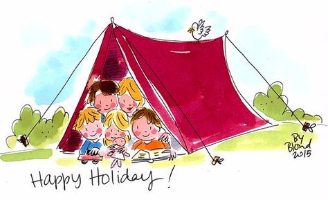 Happy Holiday! by Blond-Amsterdam