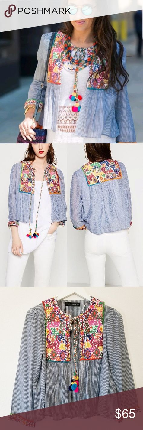 List Of Pinterest Embroidered Jacket Outfit Zara Images