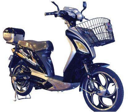 E Moto 1 0 Ridge 24 Volt Electric Trekking Bicycle Black 26 21