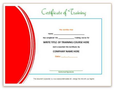 Training Certificate from word templates online Breakfast - best of old birth certificate template