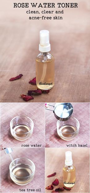 rose water toner to clear acne | O Blessed oils | How to treat acne