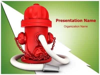 Fire Hydrant Powerpoint Template is one of the best PowerPoint