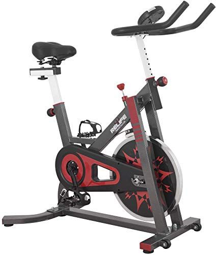 New Relife Rebuild Your Life Exercise Bike Indoor Cycling Bicycle Stationary Bikes Cardio Workout Machine Uprigh Indoor Cycling Bike Indoor Bike Biking Workout