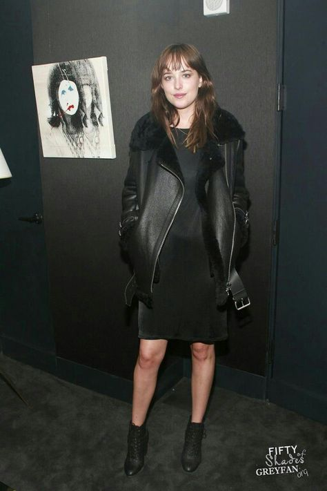 Dakota at the 'Dressing for the dark' book launch party