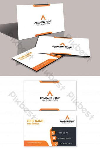Modern Business Card Eps Editable Template Ai Free Download Pikbest Modern Business Cards Flyer Design Templates Business Card Design