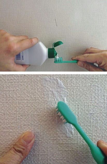 壁紙の汚れ 効率よく落としたい くらし ハウス Nikkei Style 壁紙 掃除 壁紙 汚れ お掃除の裏技