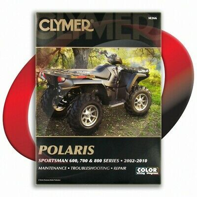 Sponsored Ebay 2008 2009 Polaris Sportsman 800 Efi Touring Repair Manual Clymer M366 Service Clymer Repair Manuals Repair